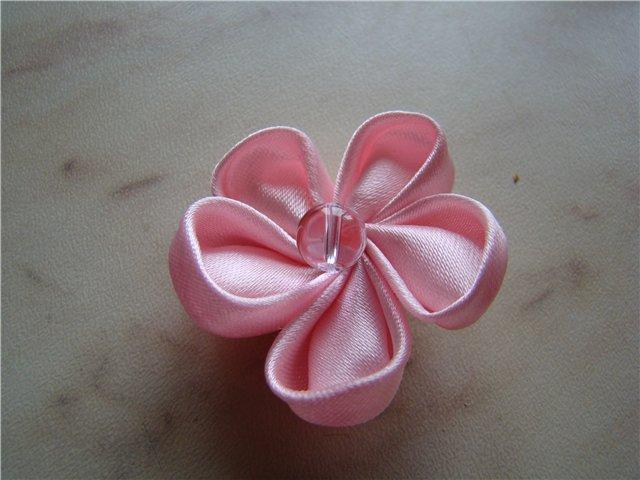 """Серия сообщений  """"цветы из ткани, лент, канзаши """": Часть 1 - цветы из..."""