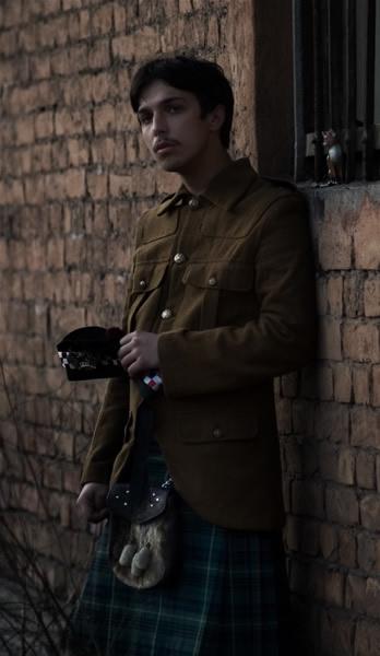 Спорран (на гэльском sporan) напоясная сумка, носимая на килтах, чаще...