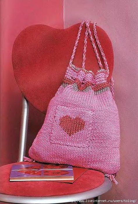 Источник. книги Вязаные сумки, рюкзачки - Эмма Кинг. следующая.