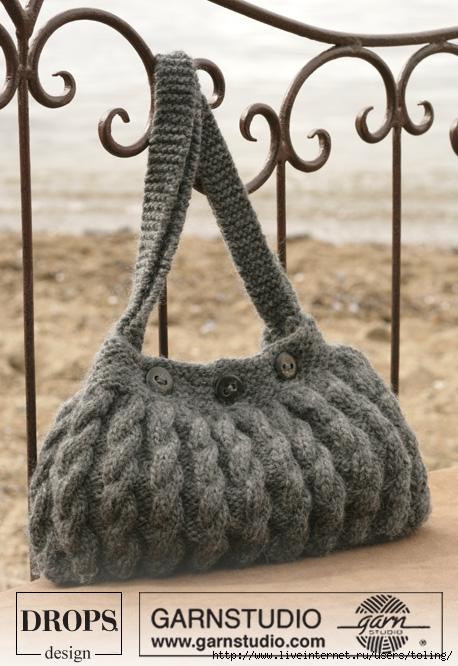 вязаные сумки спицами Вязаные сумки и сумочки.