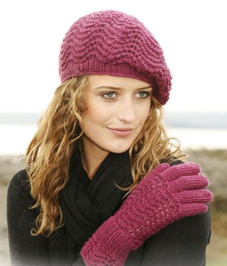 Мастер-класс по вязанию крючком берета, вязаный свитер для девочки.