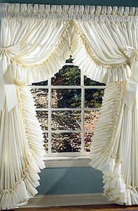 фото штор для кухни в стиле прованс.