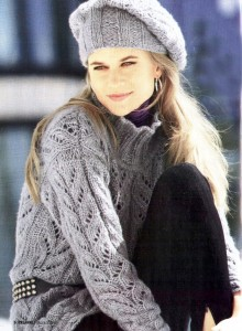 Вязание спицами платья - Все о моде.