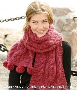 белый шарф вязание крючком схемы. стильные мужские шарфы.