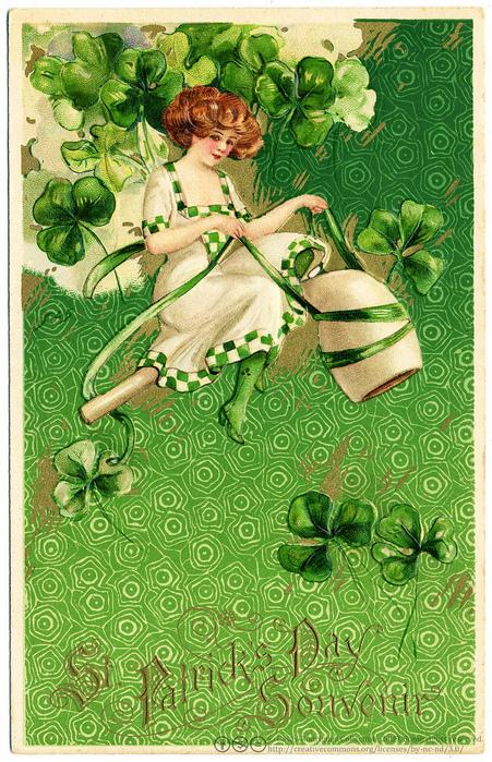 Для девушки, открытки из ирландии