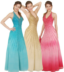 Original.  Оксана Муха коллекция вечерних платьев 2009 года.