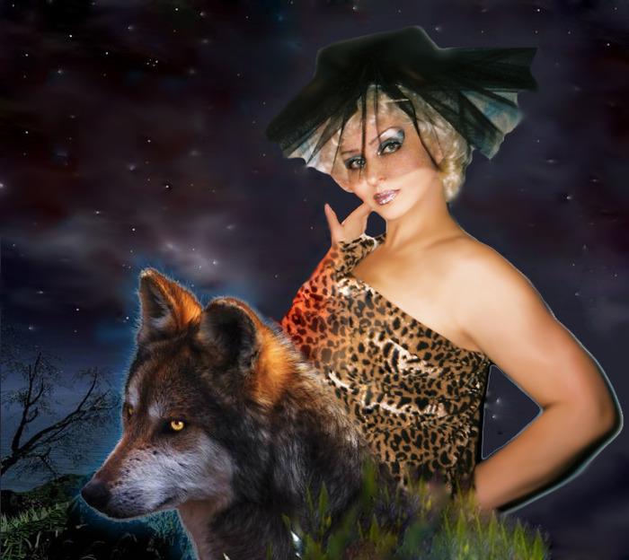 Поздравление с новым годом волк