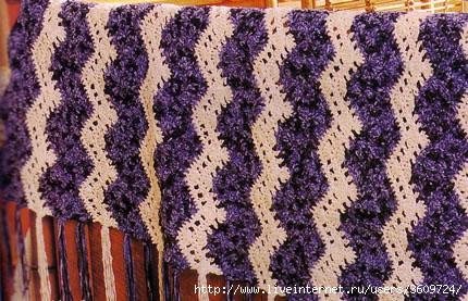 плед из квадратов схема вязания. вязание крючком пледы схемы.