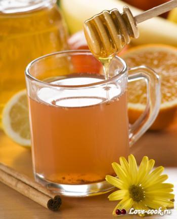 напиток из меда и корицы.