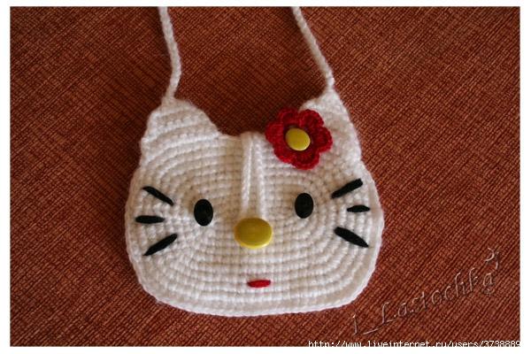 Детские сумочки - вязание крючком на.