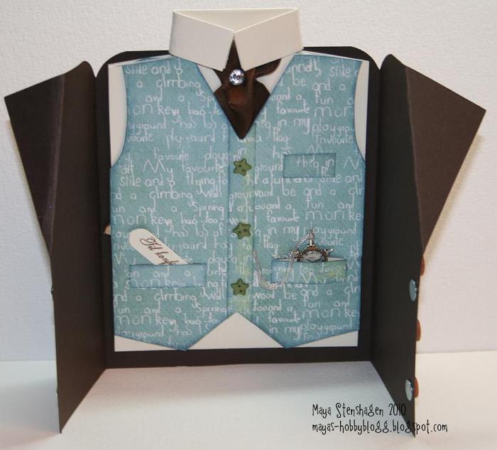 черный открытка своими руками пиджак рубашка с галстуком противоударные