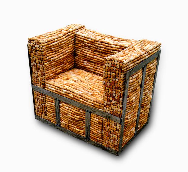 Cork Furniture: Recycle Ideas: Cork Furniture By Gabriel Wiese