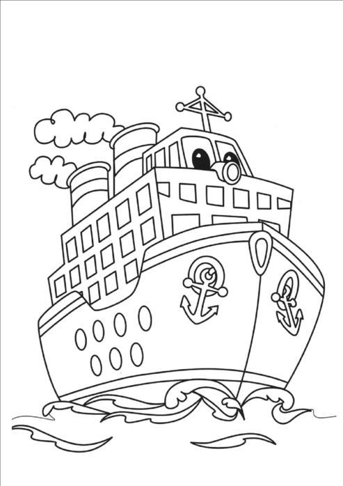 кораблики раскраски для мальчиков детские раскраски