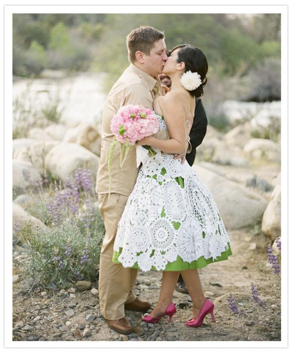 самые красивые схемы вязания крючком платье для девочки.
