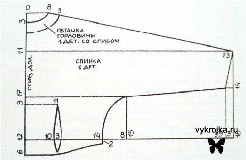 Схемы вязания тунисским крючком.