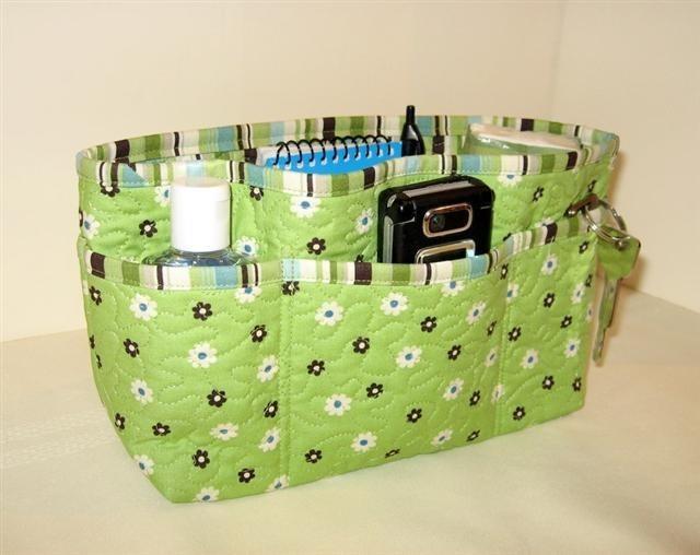 И несколько замечательных органайзеров для женской сумки.