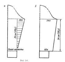Рхемы вязания свитера с рукавом - регланом и с воротником - стойкой.