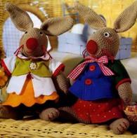 """Мастер классы  """" Вязание  """" Вязаные игрушки  """" Вязаные зайцы крючком."""