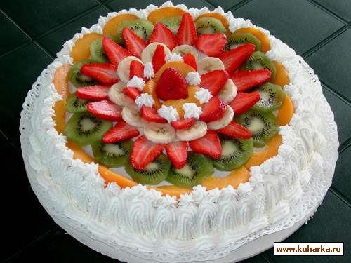Вот несколько фоток, как можно украсить торт фруктами. 50... - Кондитерские украшения - Кондитерские украшения - Персональный са