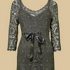 Наслаждаемся.  Красивого платьица и приятных поводов для его вязания.