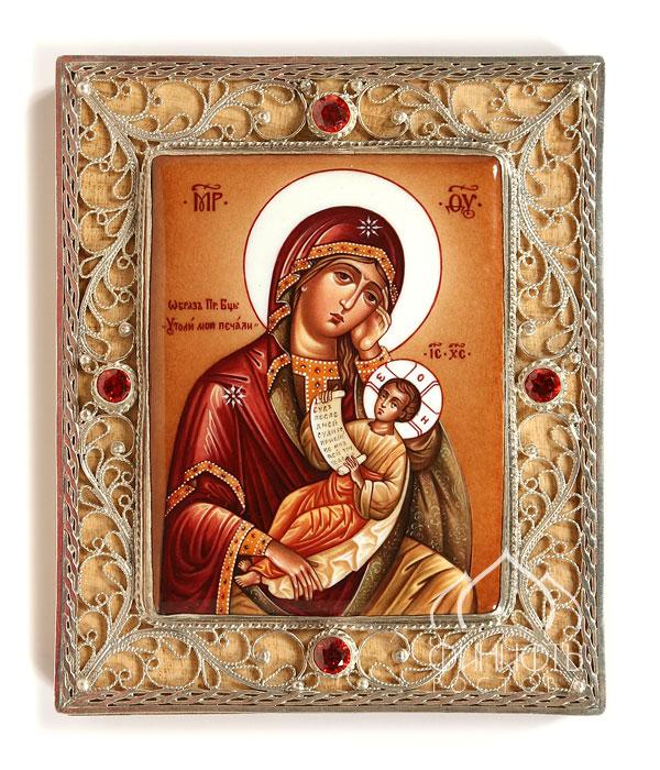 Открытка иконы божьей матери утоли мои печали