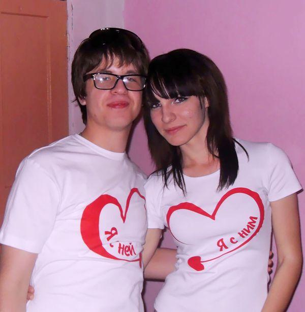 женские футболки прикольные: футболки парные для влюбленных - photo#25