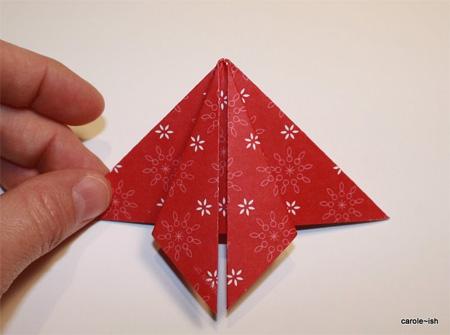 Оригами елки - Оригами