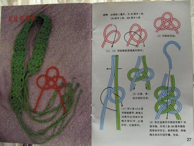 Легкие узлы макраме и изделия на их основе.