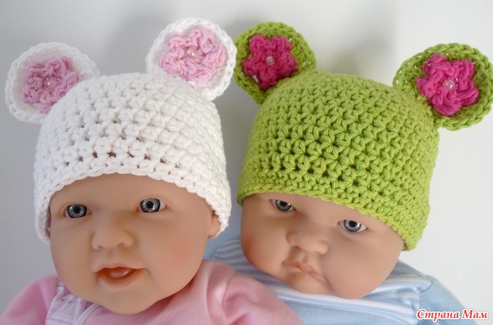 если новорожденному, то лучше шапочку однозначно потому как бандана на...