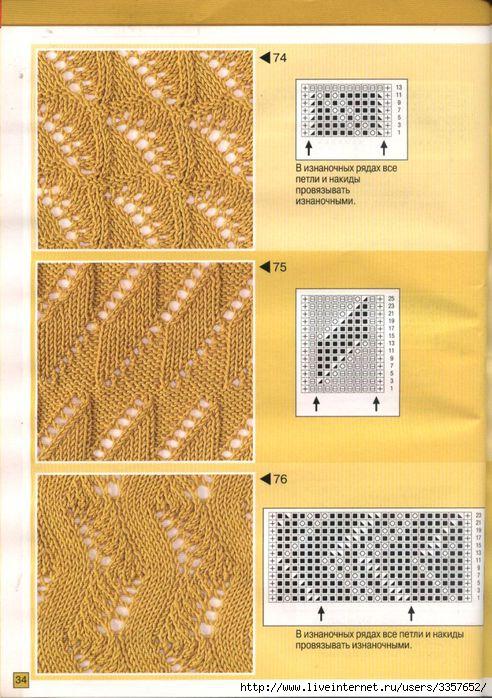 Узоры для вязания спицами со схемами. детский рисунок для вязания.