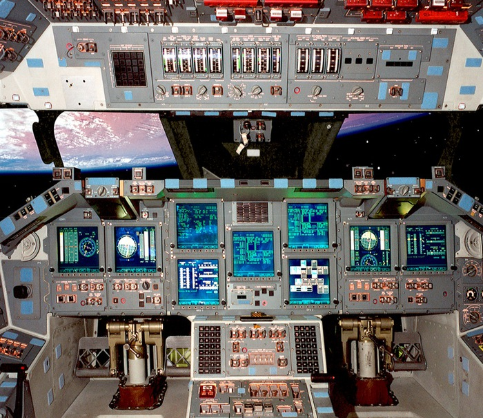 Challenger Space Shuttle Cockpit (page 4) - Pics about space
