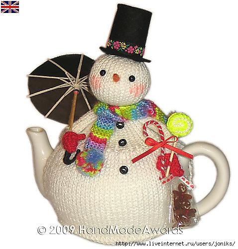 Грелки на чайник - много интересных идей для вдохновения.