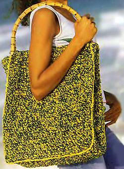 Images for вязаные пляжные сумки вязанная...