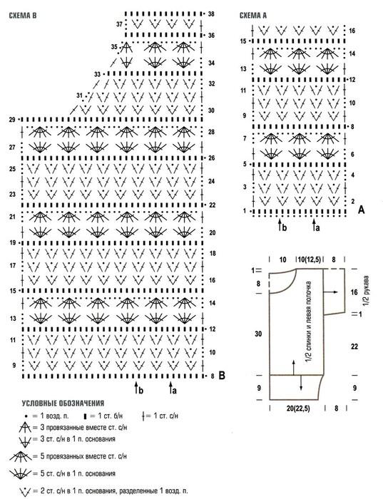 Модели ажурных кофточек вязанные слицами.