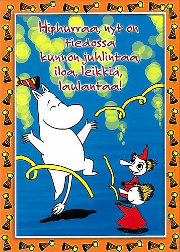 Картона фото, открытки на день рождения на финском