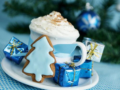 кофе новый год рождество