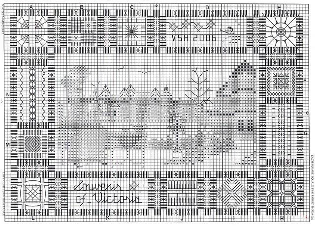бесплатные схемы сэмплер виктория