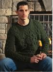 Мужской пуловер красивыми аранами.. Обсуждение на LiveInternet - Российский Сервис Онлайн-Дневников
