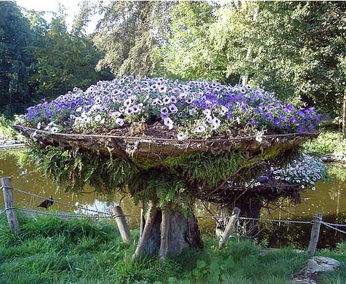 Необычные цветники для сада мой Дом моя Дача - журнал