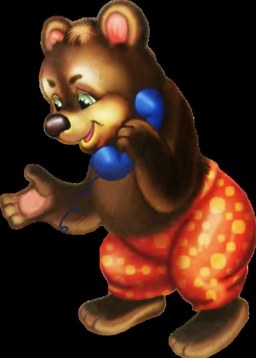 Картинки медведь сказки колобок по отдельности