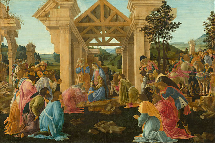 800px-Sandro_Botticelli_-_The_Adoration_of_the_Magi_-_Google_Art_Project (700x466, 111Kb)