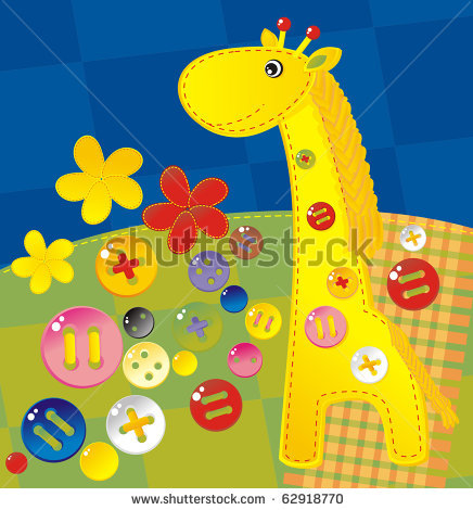 stock-vector-childish-applique-giraffe-62918770 (436x470, 66Kb)