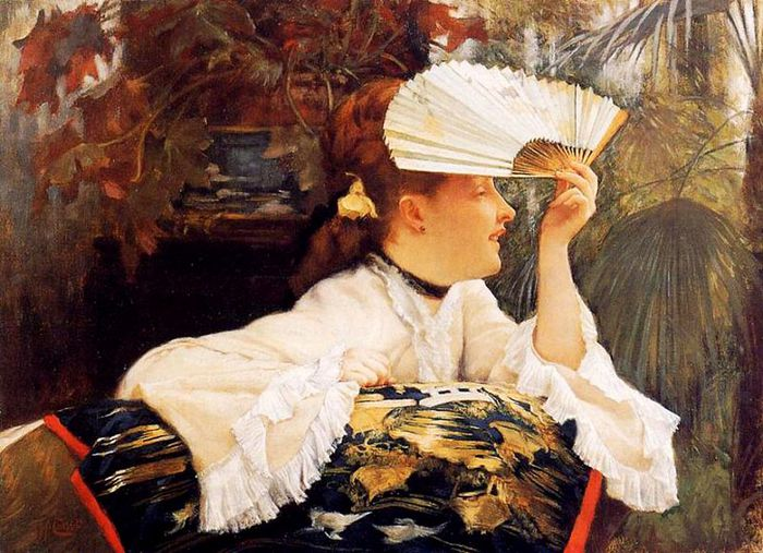 1James Tissot- The Fan (700x507, 88Kb)