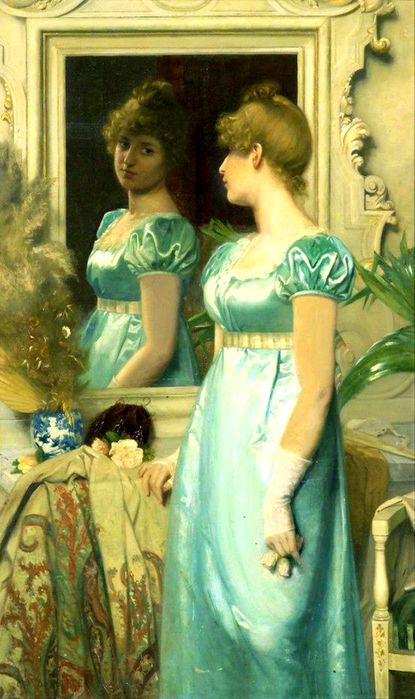 2Maria Wilhelmina Wandscheer (1856-1936) - Before the ball, 1886 (415x700, 62Kb)
