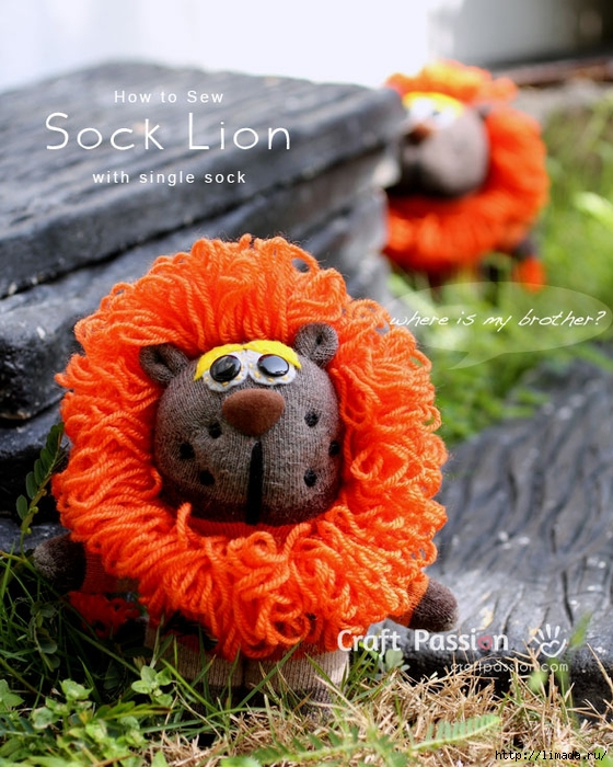 sock-lion-hideseek (560x700, 334Kb)