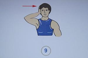 Упражнения при боли в шее 9 (300x200, 81Kb)