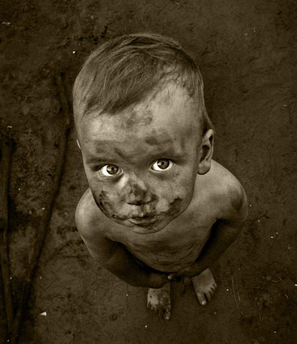 Картинки чумазый ребенок