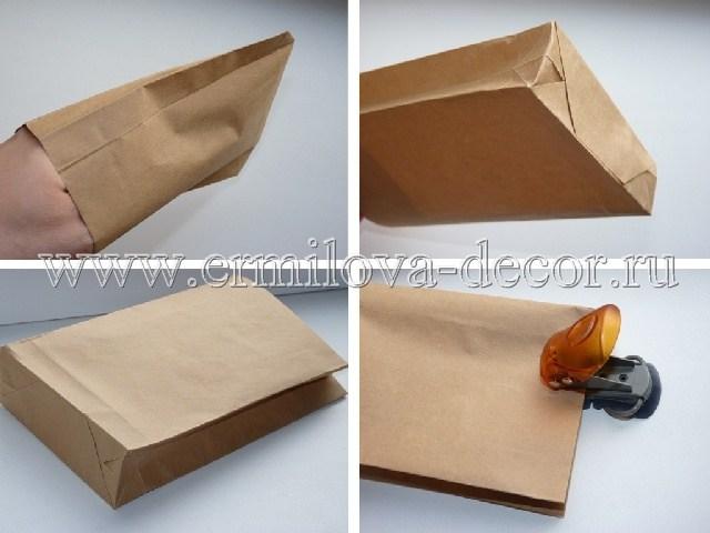Пакет из бумаги своими руками
