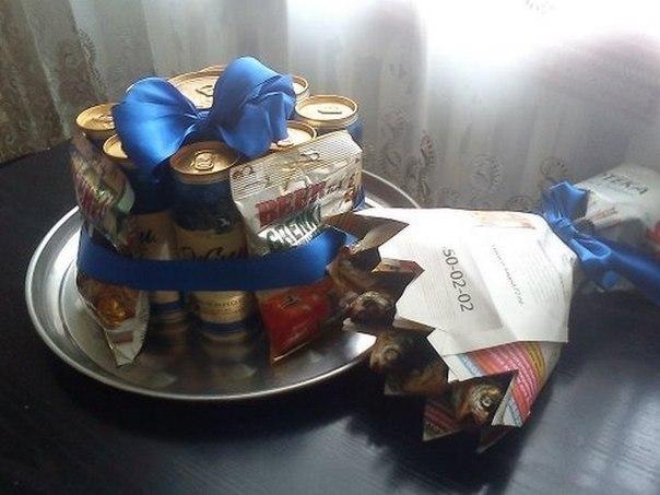 подарок из конфет - Самое интересное в блогах