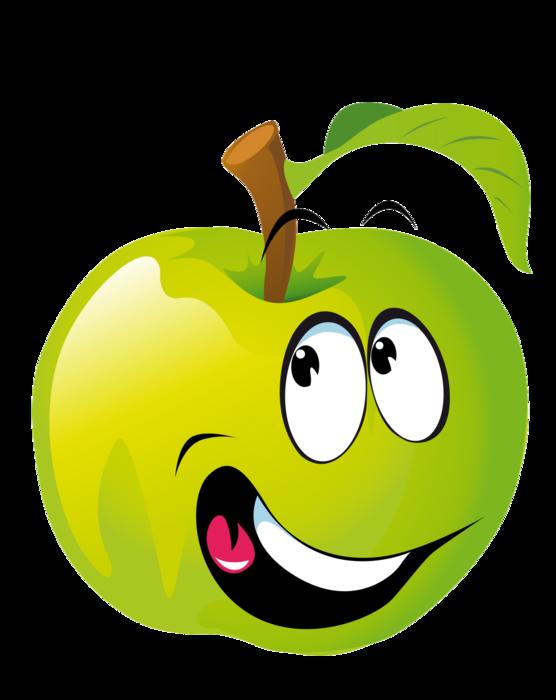 картинки овощи и фрукты мультяшные